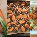 Couscous-Karotten Kichererbsensalat mit Za'atar – Couscous with roasted chickpeas, carrots and za'atar