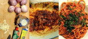 Bucatini mit karamellisierten Schalotten – pasta with carmelized shallots