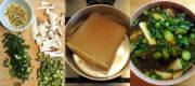 Frühlingsuppe mit Tofu – spring soup with tofu