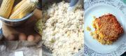 Maispudding – corn pudding, new fashioned
